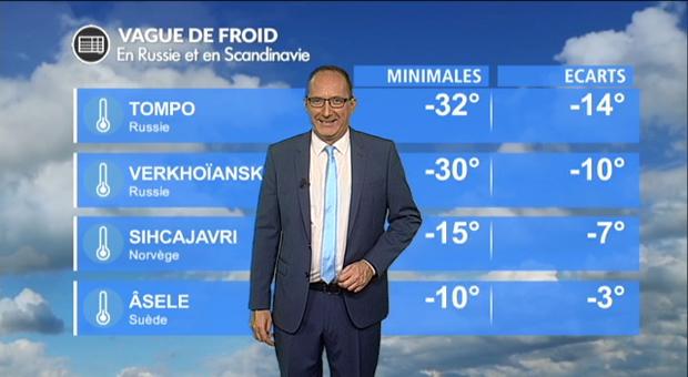 Vidéo Vague de froid en Europe du nord : jusqu'à -30° !