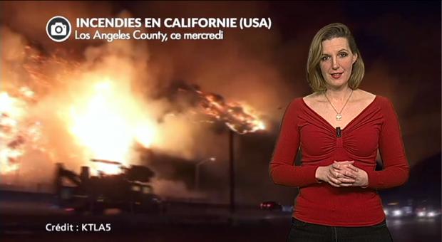Vidéo Californie : les feux atteignent Los Angeles