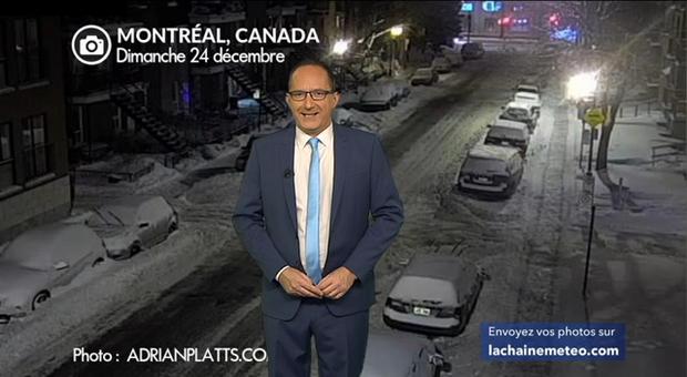 Vidéo Météo Canada : de la neige en abondance avant le grand froid