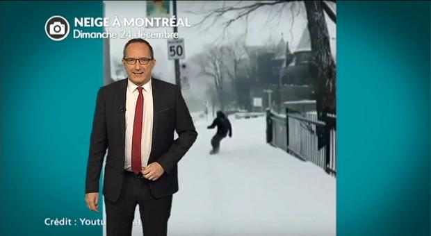 Vidéo 30 cm de neige à Montréal ce week end, avant un froid glacial toute la semaine !