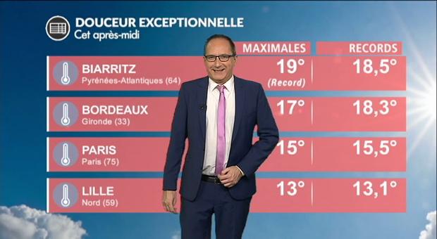 Vidéo Météo samedi : vers une douceur record en France !