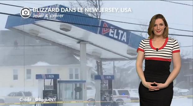 Vidéo Tempête de neige majeure aux USA