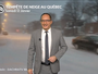 Montréal : incroyable chute des températures !