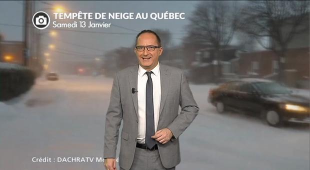 Vidéo Neige et grand froid sur le Canada