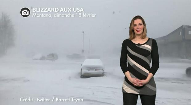 Vidéo Tempête de neige aux USA