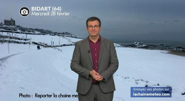 Vidéo Bilan de cette journée de neige au sud en photos