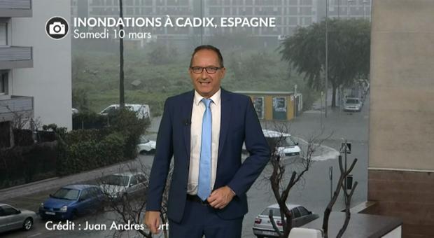Vidéo Espagne et Portugal : des inondations après le passage de la tempête Félix