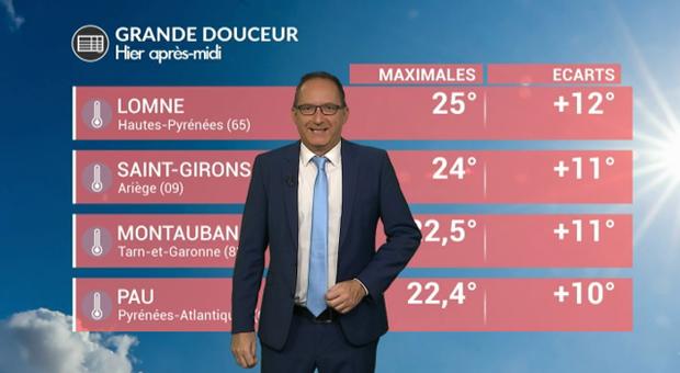 Vidéo Premier jour de chaleur en France ce samedi !