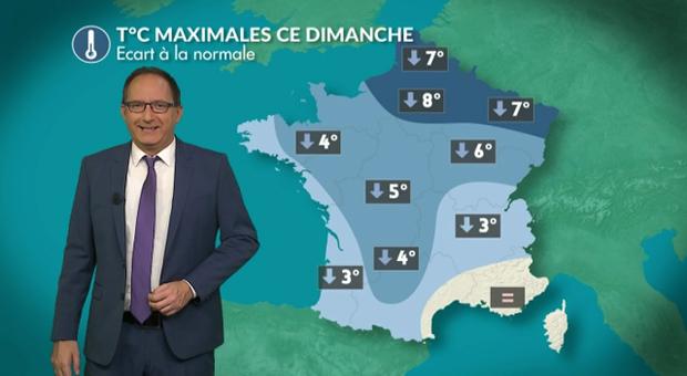 Vidéo Météo dimanche : un temps hivernal !