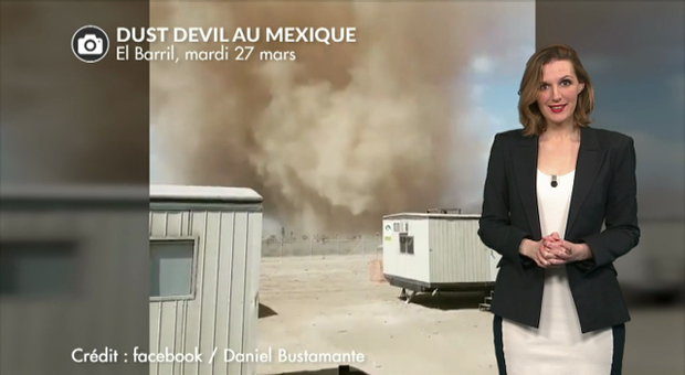 Vidéo Gigantesques tourbillons de sable ces derniers jours