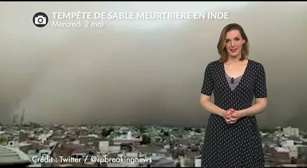 Vidéo Tempête de sable meurtrière en Inde