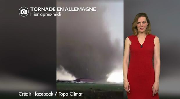 Vidéo Impressionnante tornade en Allemagne hier