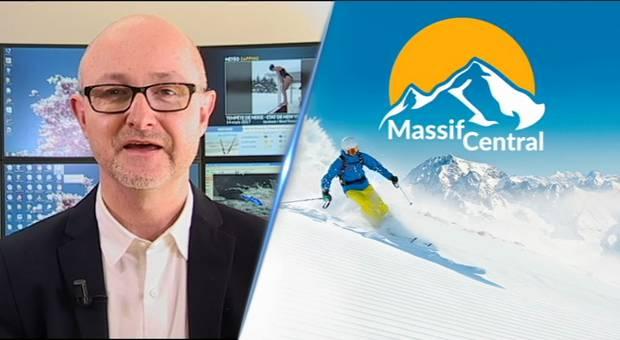 Vidéo Météo et enneigement pour le Massif Central