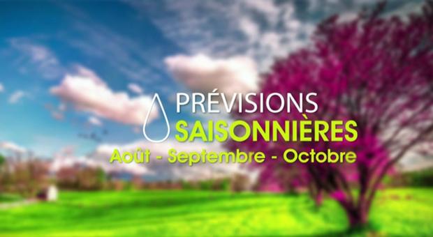 Vidéo Prévisions saisonnières