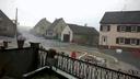 Orages de gr�les en Alsace.