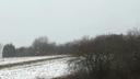 L�g�res chutes de neige sur rebreuve-ranchicourt vers 12h30