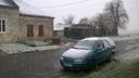 Neige dans la Thi�rache